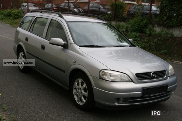 Opel Astra 2.0 2002 photo - 2