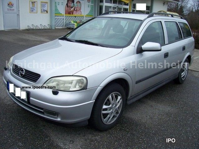 Opel Astra 2.0 2002 photo - 6