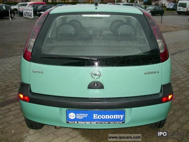 Opel Corsa 1.0 2002 photo - 10