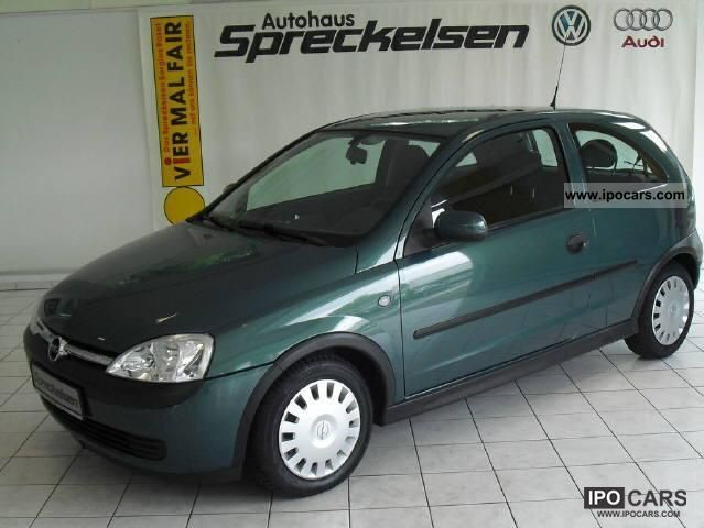 Opel Corsa 1.0 2002 photo - 11