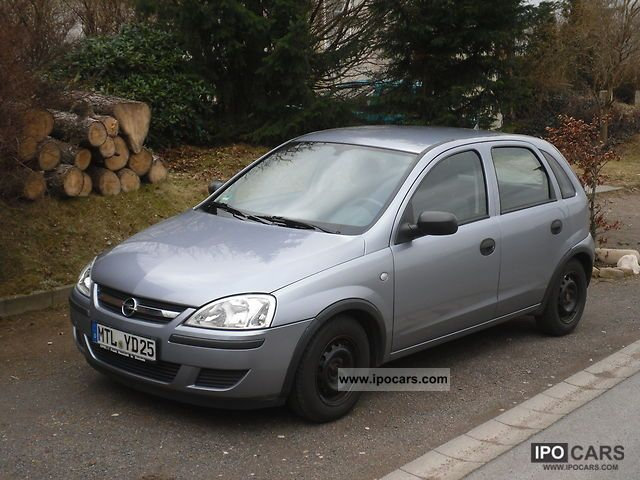 Opel Corsa 1.0 2004 photo - 8