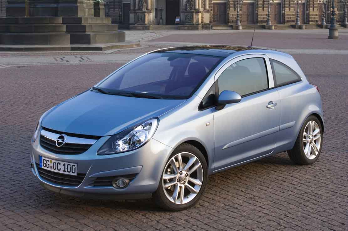 Opel Corsa 1.2 2006 - Technical specifications