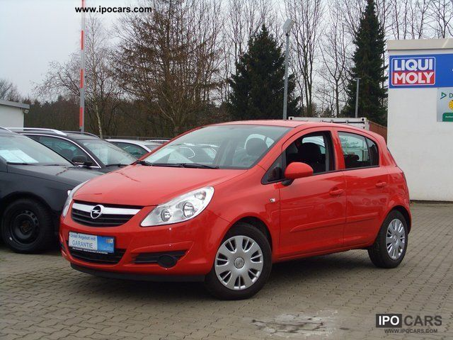 opel corsa 1 2 2008 technical specifications interior and exterior photo. Black Bedroom Furniture Sets. Home Design Ideas