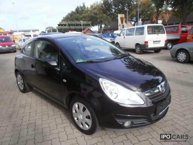 opel corsa 1 2 2008 technical specifications interior. Black Bedroom Furniture Sets. Home Design Ideas