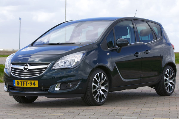 opel meriva 1 4 2014 technical specifications interior and exterior photo. Black Bedroom Furniture Sets. Home Design Ideas