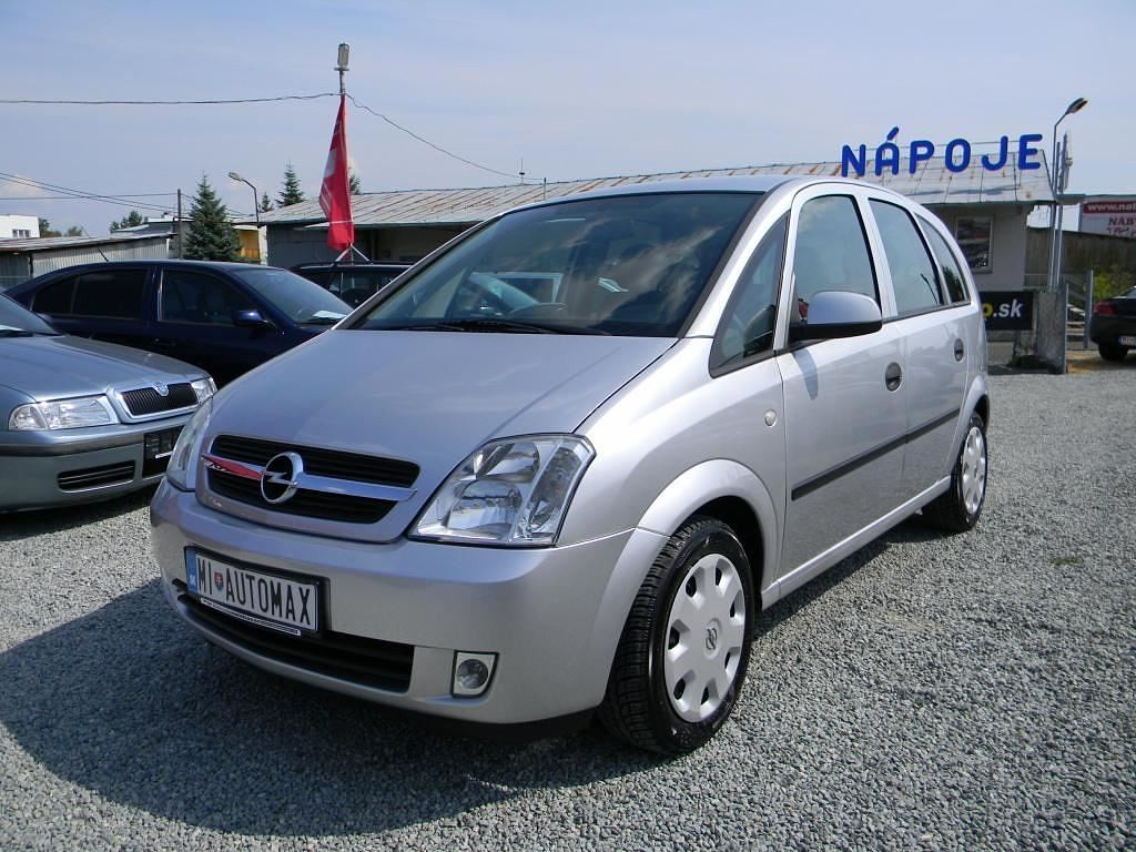 opel meriva 1 7 2003 technical specifications interior and exterior photo. Black Bedroom Furniture Sets. Home Design Ideas