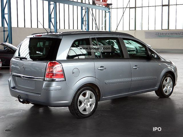 opel zafira 1 6 2006 technical specifications interior and exterior photo. Black Bedroom Furniture Sets. Home Design Ideas
