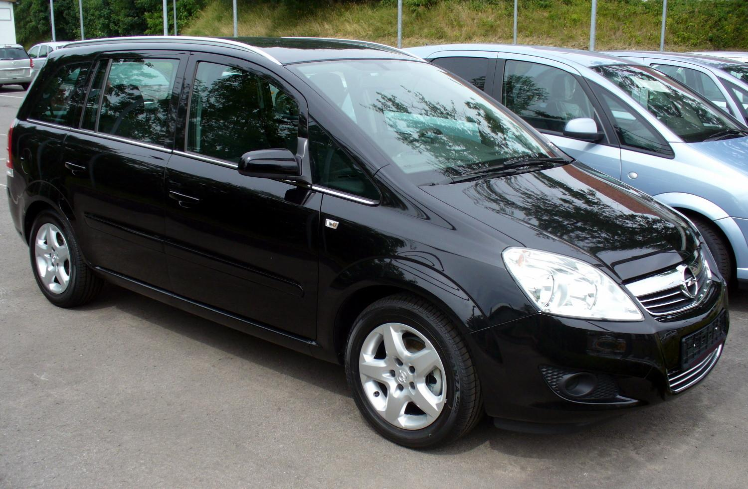 Opel Zafira 1.6 2008 photo - 1