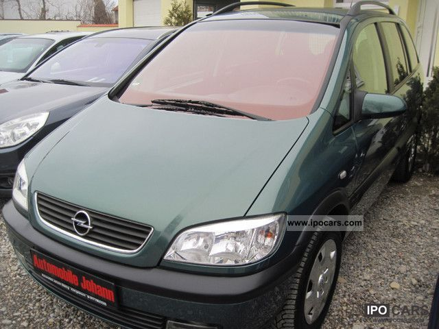 Opel Zafira 1.8 2000 photo - 10