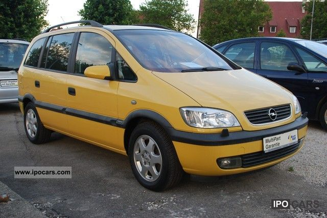Opel Zafira 1.8 2000 photo - 11