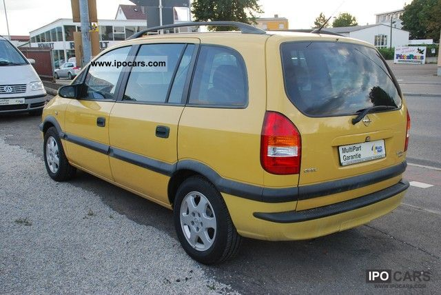 Opel Zafira 1.8 2000 photo - 12