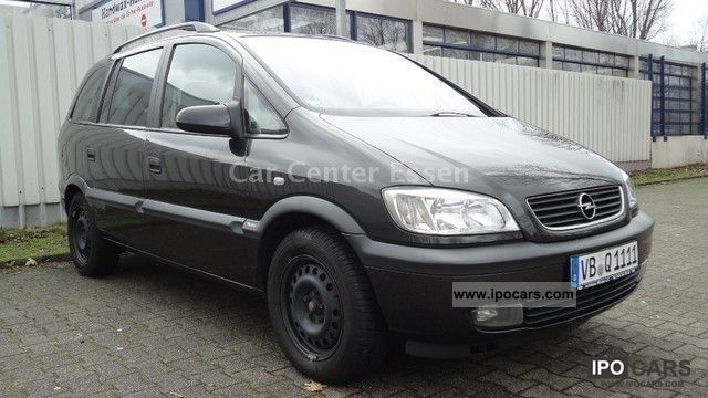 Opel Zafira 1.8 2000 photo - 2