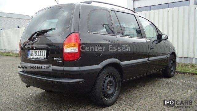 Opel Zafira 1.8 2000 photo - 4