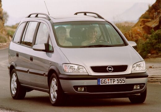 Opel Zafira 1.8 2000 photo - 9