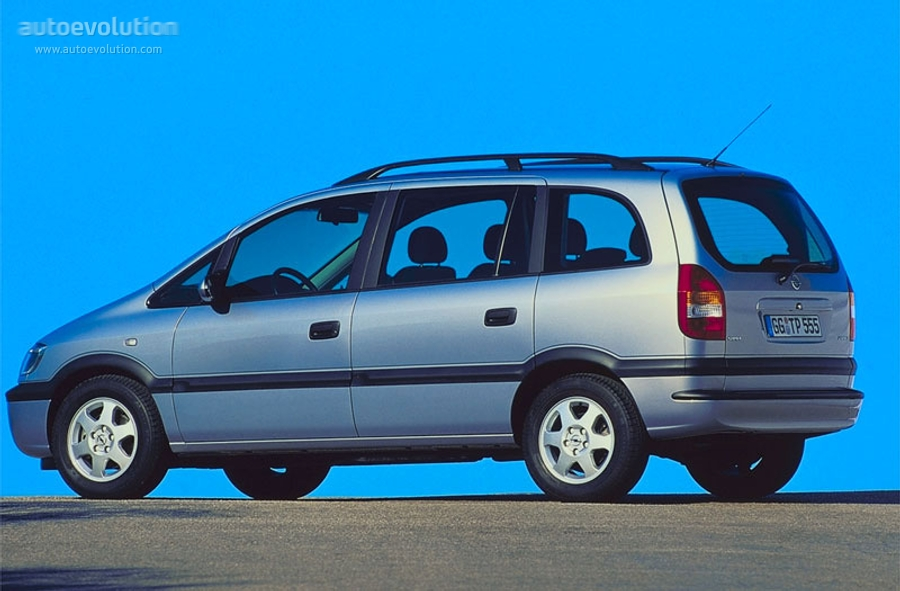 Opel Zafira 2.0 1999 photo - 2