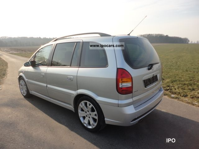 Opel Zafira 2.0 2002 photo - 11
