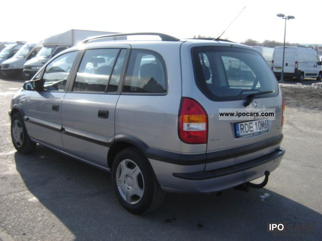 Opel Zafira 2.0 2002 photo - 2
