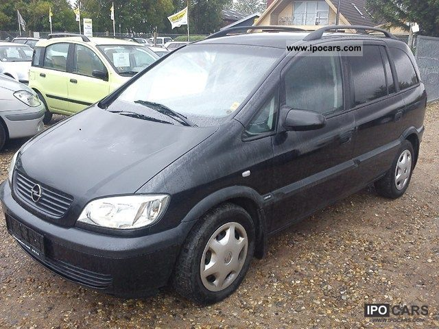 Opel Zafira 2.0 2002 photo - 3