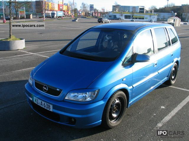 Opel Zafira 2.0 2002 photo - 5