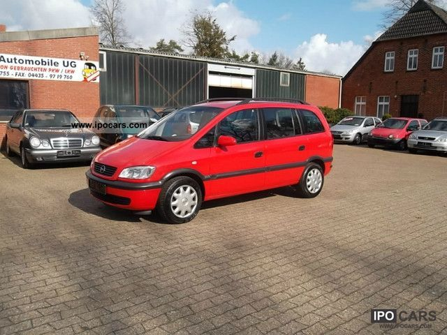 Opel Zafira 2.0 2002 photo - 6
