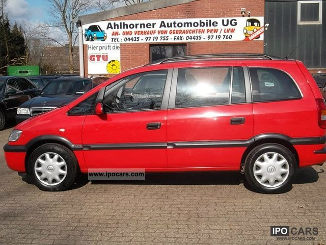 Opel Zafira 2.0 2002 photo - 7