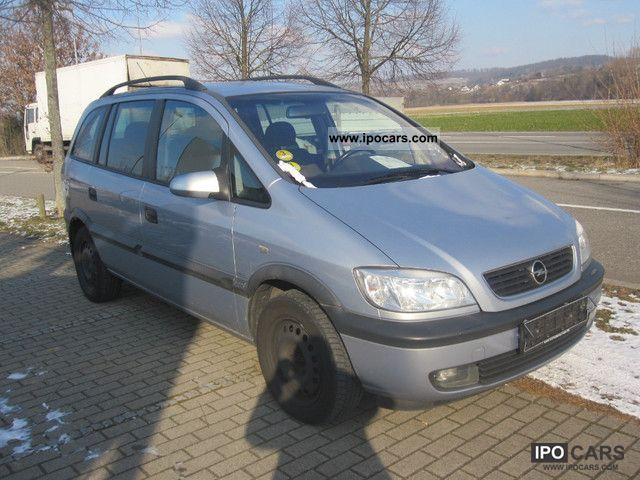 Opel Zafira 2.0 2002 photo - 9