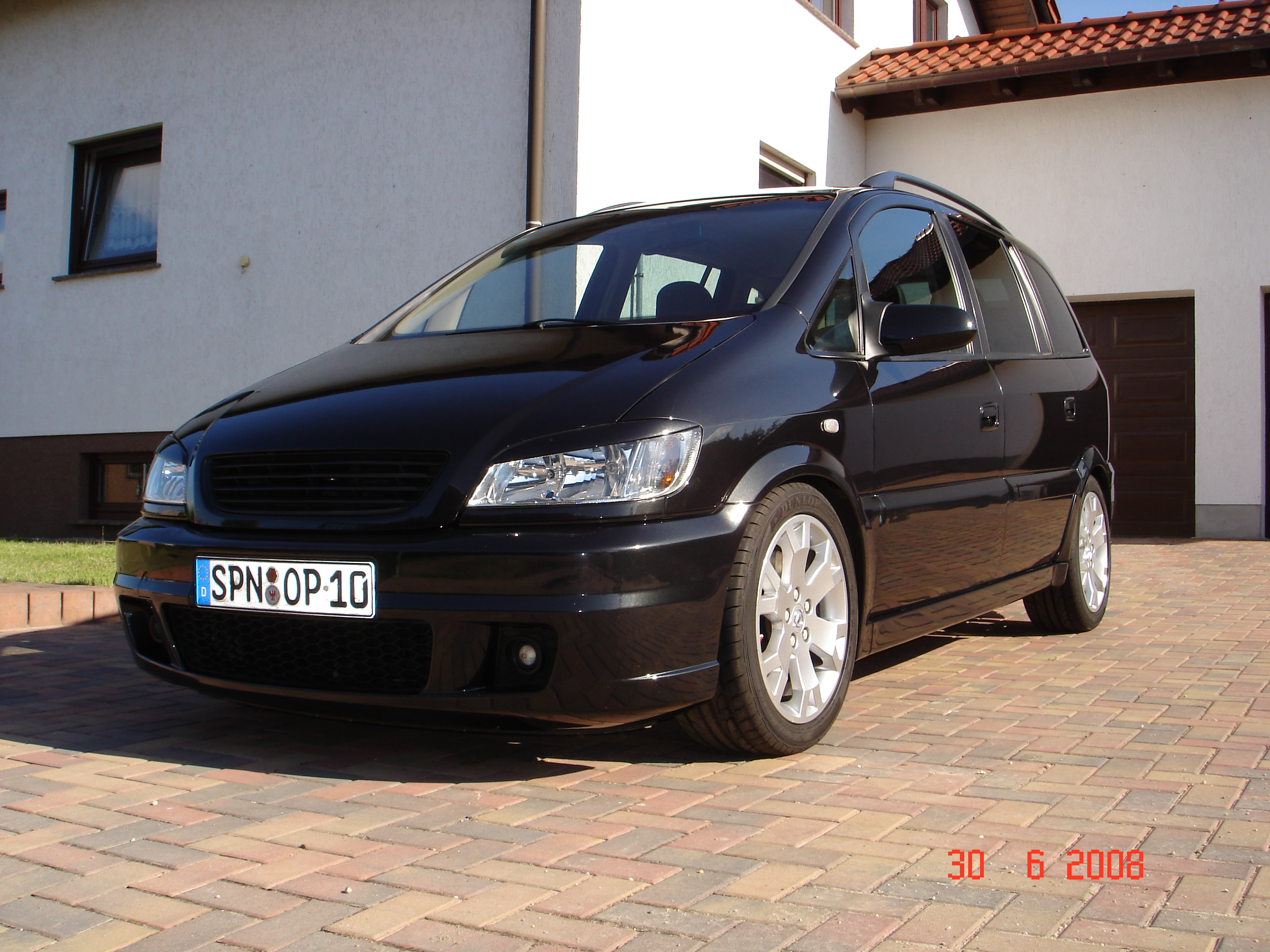 opel zafira 2 0t 2008 technical specifications interior and exterior photo. Black Bedroom Furniture Sets. Home Design Ideas