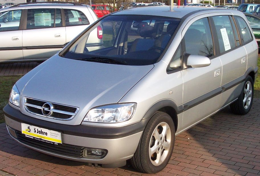 Opel Zafira 2.2 1999 photo - 5