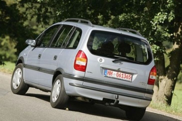 Opel Zafira 2.2 1999 photo - 9