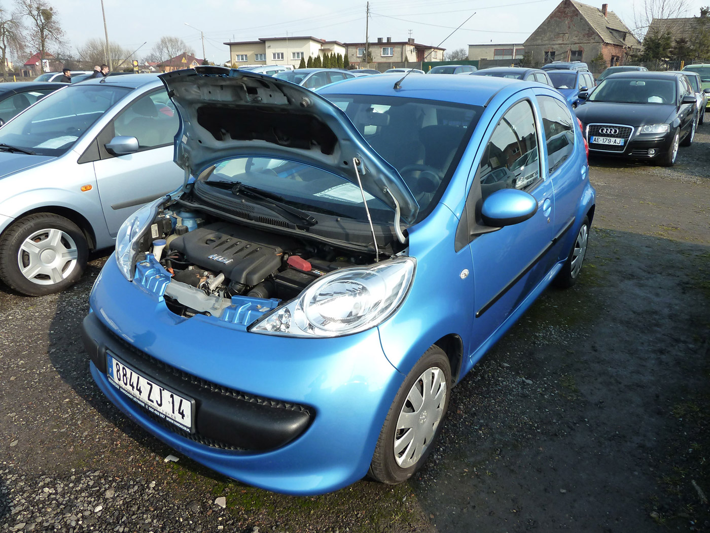 Peugeot 107 1 4 2008 Technical Specifications Interior