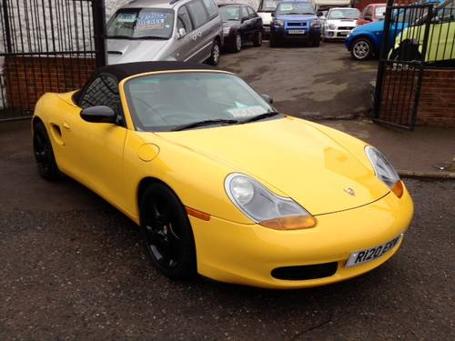 Porsche Boxster 2.5 1998 photo - 1