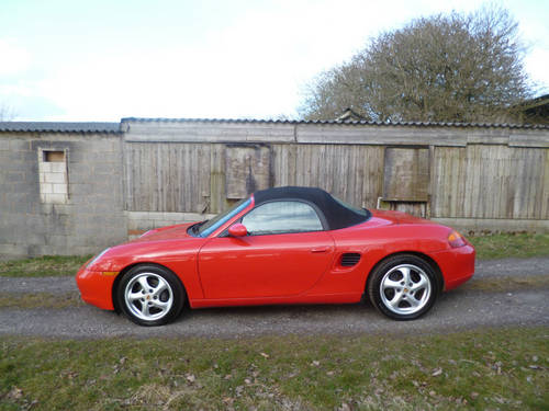 Porsche Boxster 2.5 1998 photo - 12