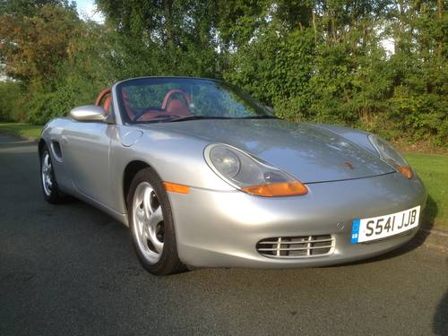 Porsche Boxster 2.5 1998 photo - 4