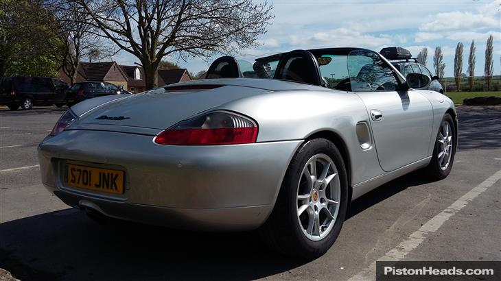 Porsche Boxster 2.5 1998 photo - 9