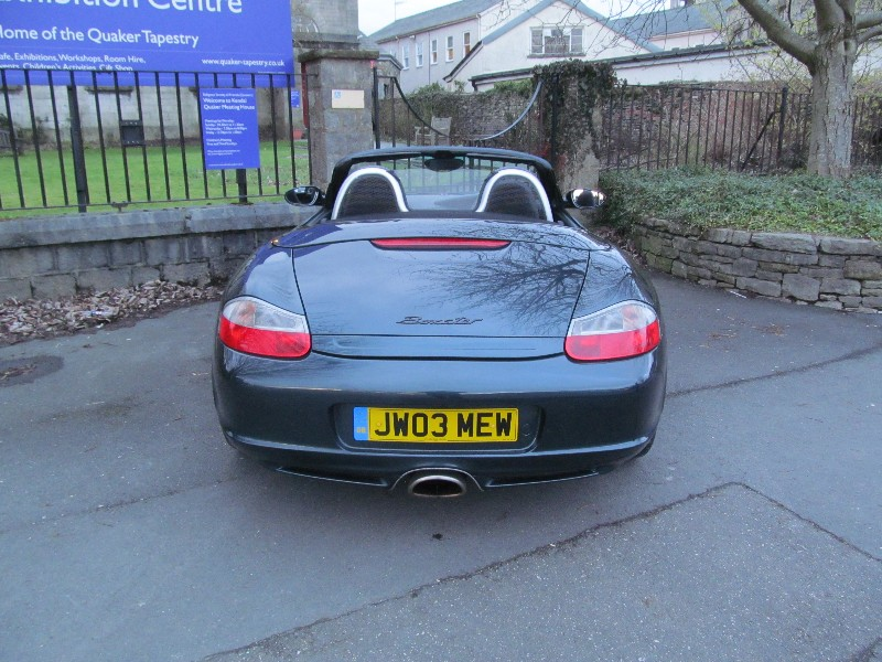Porsche Boxster 2.7 2003 photo - 3