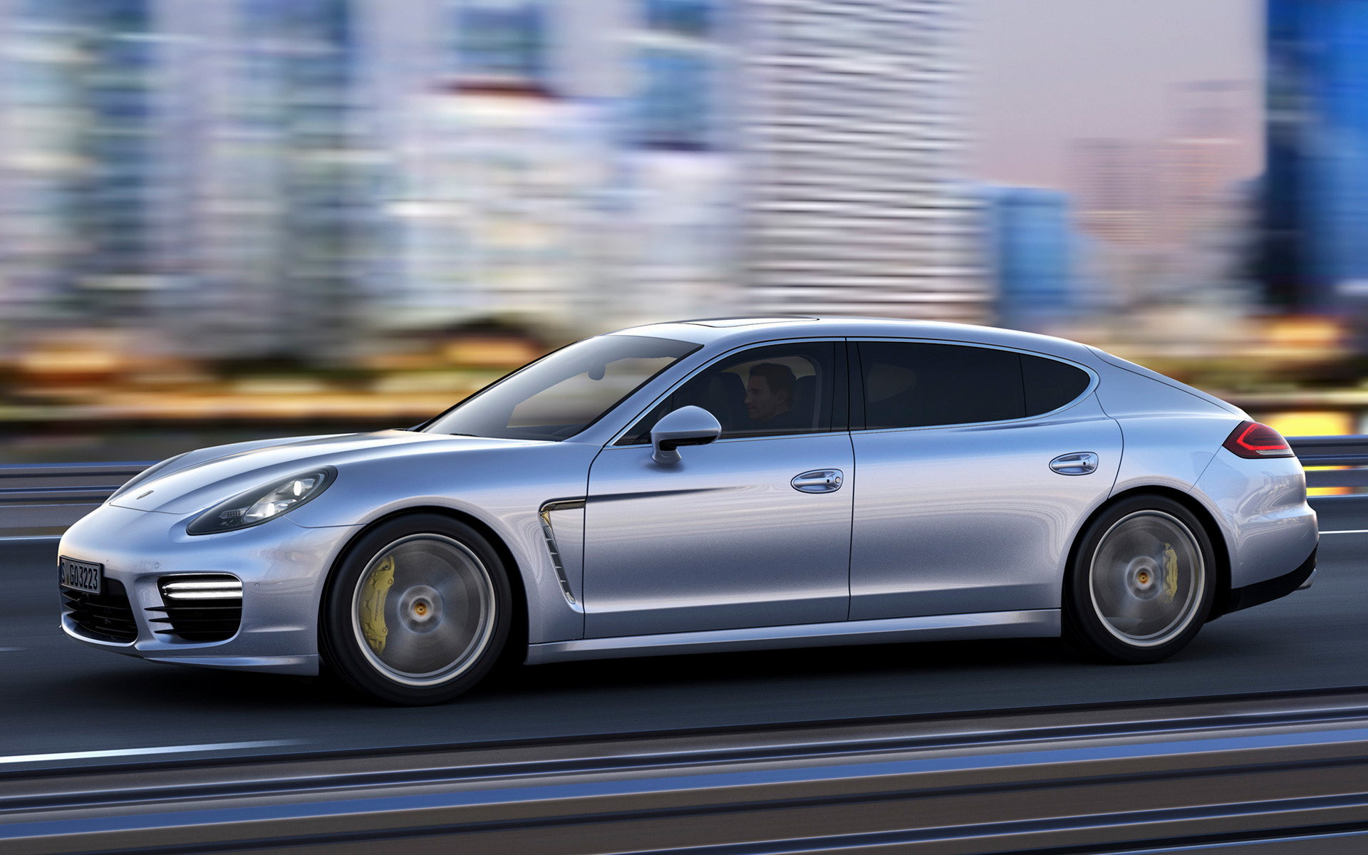 Porsche Panamera Turbo 2013 photo - 9