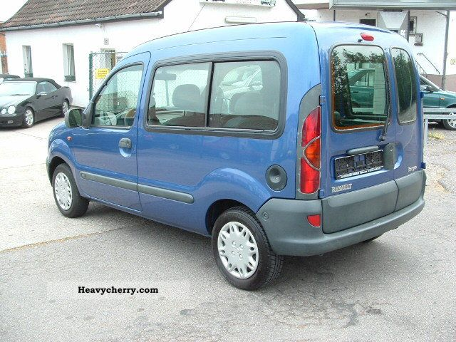 Renault Kangoo 1.2 1998 photo - 2