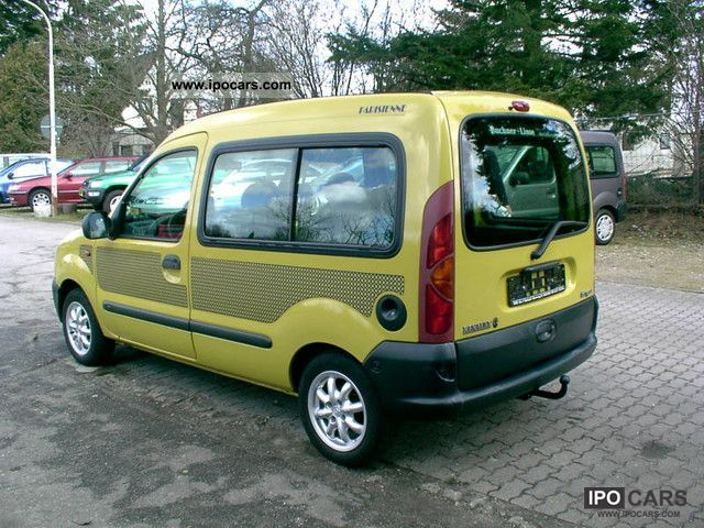 Renault Kangoo 1.2 1998 photo - 4
