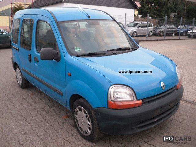 Renault Kangoo 1.2 1999 photo - 1