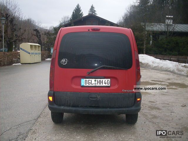 Renault Kangoo 1.2 1999 photo - 5