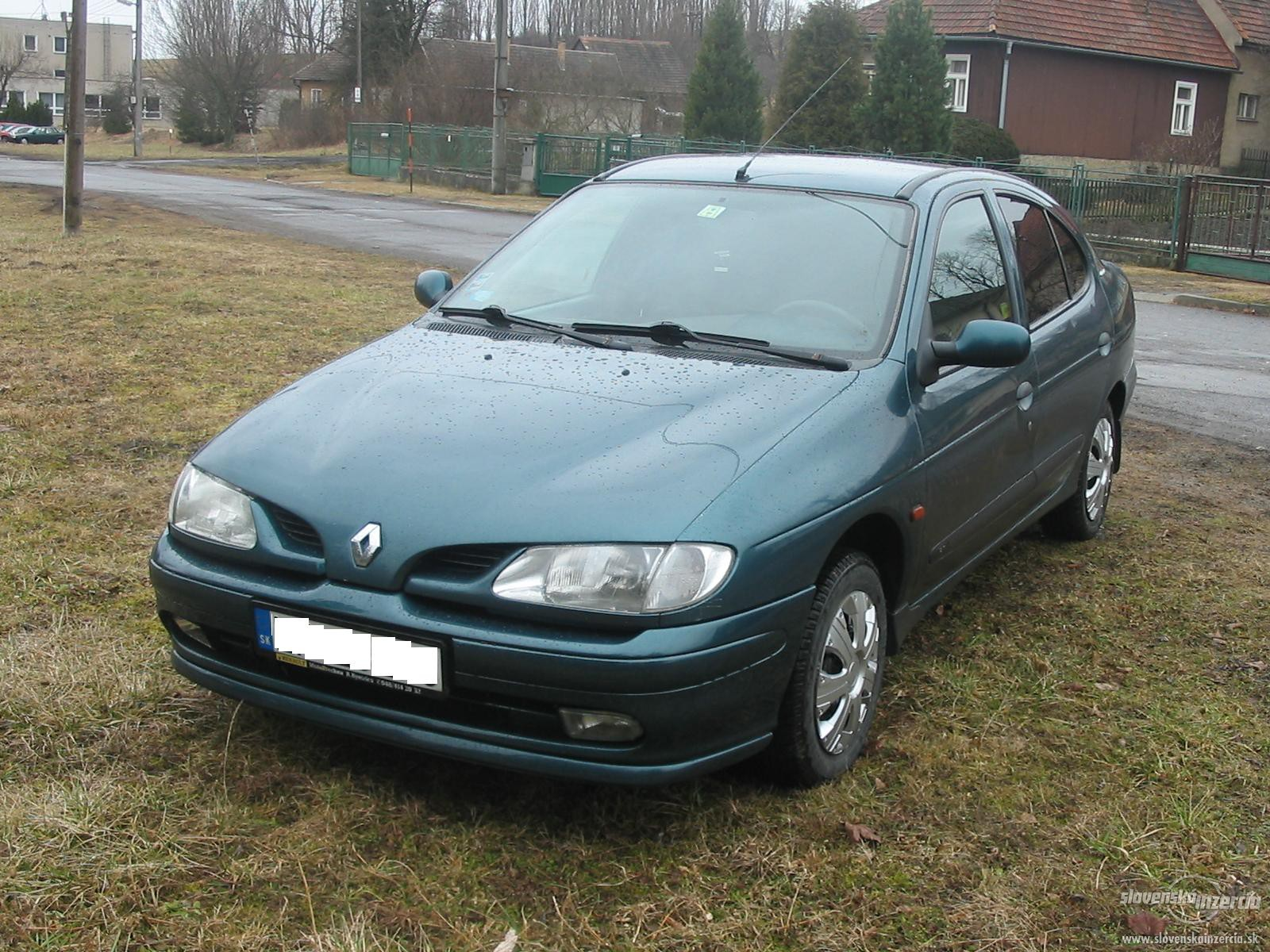 renault megane 1 6 1999 technical specifications interior and exterior photo. Black Bedroom Furniture Sets. Home Design Ideas