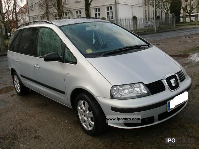 seat alhambra 1 9 2002 technical specifications interior. Black Bedroom Furniture Sets. Home Design Ideas
