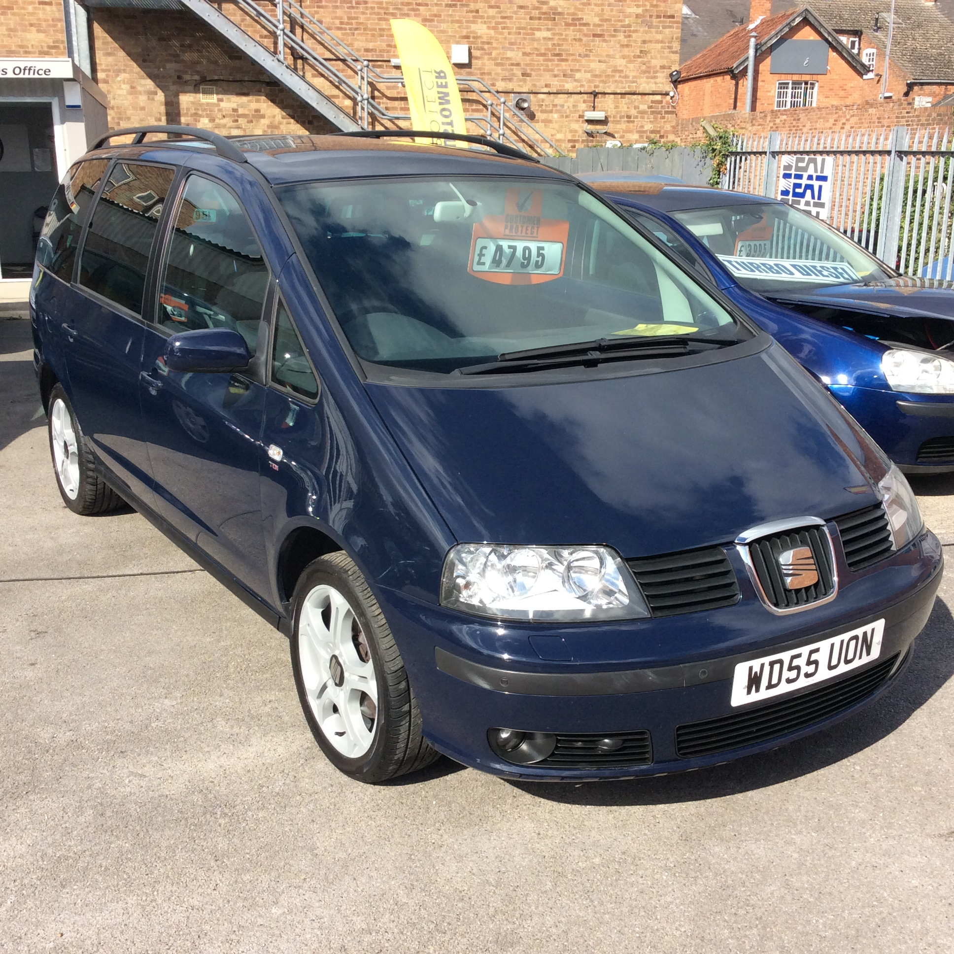 SEAT Alhambra 2.0 2006 Technical Specifications