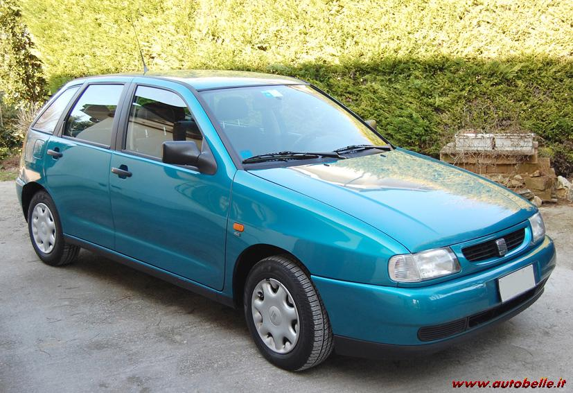 seat ibiza 1 0 1997 technical specifications interior and exterior photo. Black Bedroom Furniture Sets. Home Design Ideas