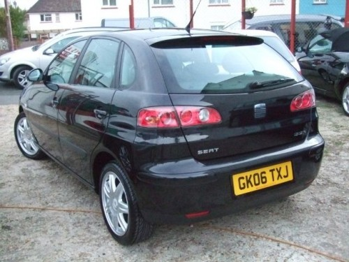 seat ibiza 1 4 2006 technical specifications interior and exterior photo. Black Bedroom Furniture Sets. Home Design Ideas