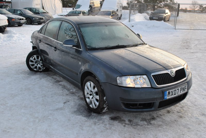 Skoda Superb 1.6 2008 photo - 7