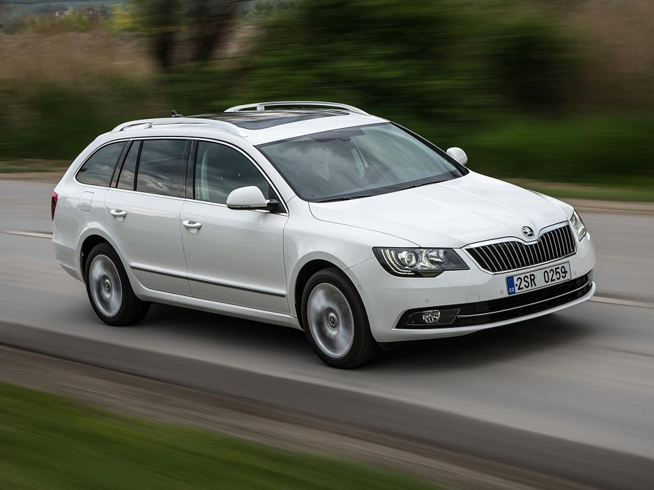 Skoda Superb 1.6 2013 photo - 2