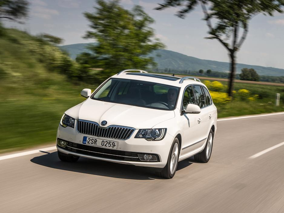 Skoda Superb 1.6 2013 photo - 5