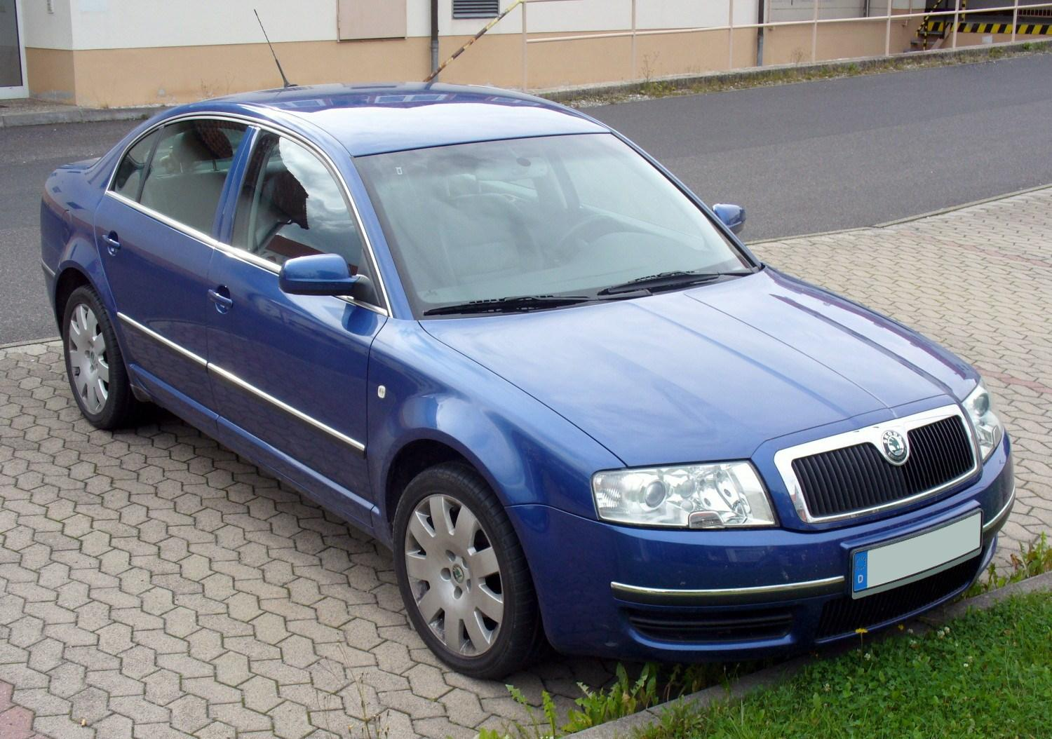 Skoda Superb 2.8 2008 photo - 2