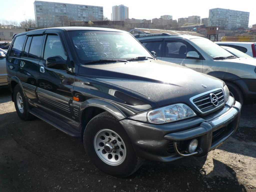 SsangYong Actyon 2.3 2002 photo - 3